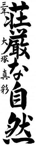 大塚真彩 準大賞